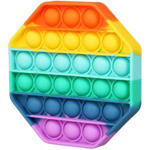 MG Bubble Pop It antistresová hračka, osemuholník, multicolor -pop it, popit sk, pop it hracka, antistresové hračky pop it, bubble pop, pop it fidget, antistresova hracka pop it, pop it antistresova hracka, push bubble fidget, pop it push, pop it xxl, pop it push, bublinková fólia, bublinkova folia, bublinkove folie, pukacia folia, bublinková fólia cena, darček za vysvedčenie, bublinkova folia predaj, kde kupit bublinkovu foliu, bublinková fólia kde kúpiť, pop it dracik, dracik pop it, dráčik pop it